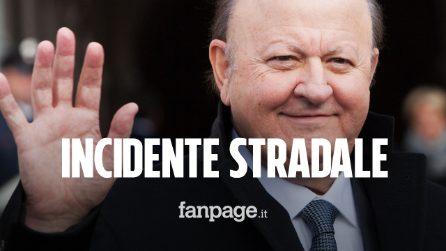 """Incidente stradale per Massimo Boldi, scontro con il guardrail. L'attore: """"Vivo per miracolo"""""""