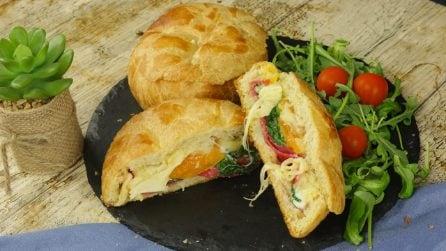 Ciotole di pane ripiene: un'idea originale e gustosa per stupire i vostri ospiti!