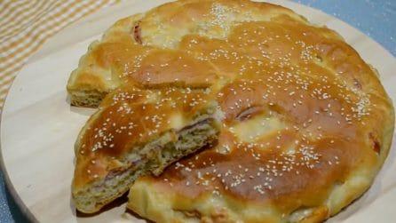Torta salata senza sporcarsi le mani: veloce e buonissima