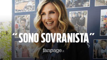 """Lorella Cuccarini: """"Amo l'Italia e sono sovranista. Heather Parisi? Non la capisco"""""""