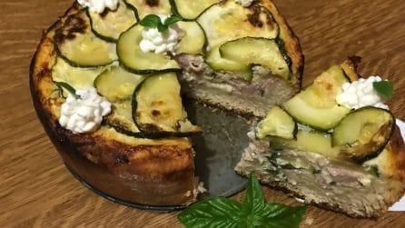 Torta salata di zucchine: una ricetta rustica davvero saporita