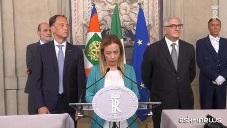 Consultazioni, Meloni: ho sentito Salvini, siamo già maggioranza