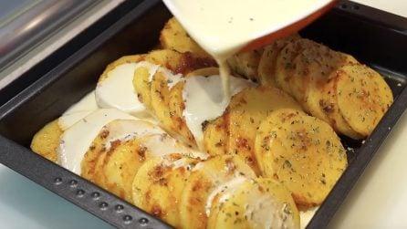Patate al forno sfiziose: il segreto per averle davvero buonissime