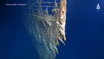Titanic, il relitto si sta sbriciolando: le nuove immagini infondo al mar