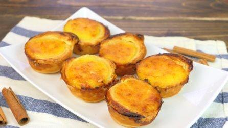 Pasteis de nata: la ricetta portoghese per farli come quelli di Belem
