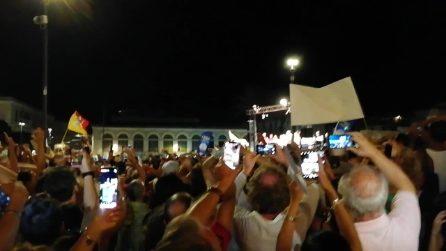 Salvini contestato anche a Siracusa: cori contro il Ministro dell'Interno