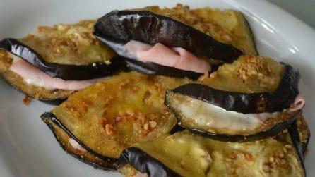 Mezzelune di melanzane ripiene: una ricetta semplice e sfiziosa