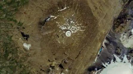 La morte del primo ghiacciaio: le immagini dal satellite sono drammatiche