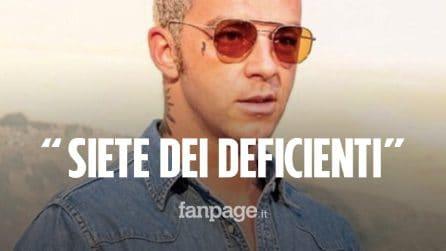 """Salmo denuncia l'uso di spray al peperoncino al suo live come a Corinaldo: """"Siete dei deficienti"""""""
