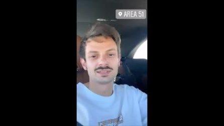 """Fabio Rovazzi all'Area 51: """"Ho rischiato di essere sparato male"""""""