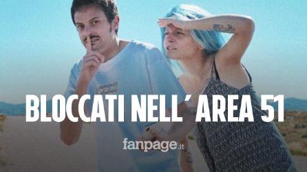 """Fabio Rovazzi e la fidanzata Kokeshi all'Area 51: """"Bloccati dai militari, eravamo troppo vicini"""""""
