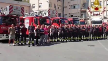 Ponte Morandi, le sirene dei vigili del fuoco a un anno dalla tragedia