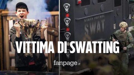 """Kyle """"Bugha"""" Giersdorf, campione mondiale di Fortnite, vittima di swatting: la polizia entra in casa"""