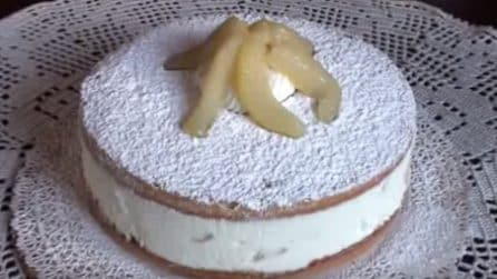 Torta ricotta e pere: il dessert fresco e pieno di gusto