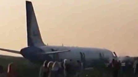 Aereo colpisce stormo di gabbiani durante il decollo: costretto a un atterraggio d'emergenza
