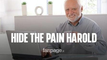 Ecco chi è Hide the Pain Harold, il meme dell'anziano ingegnere ungherese famoso in tutto il mondo