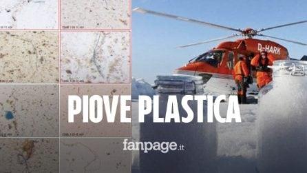 Nevica e piove plastica sull'Artico e sulle catene montuose: scoperte scioccanti sull'inquinamento