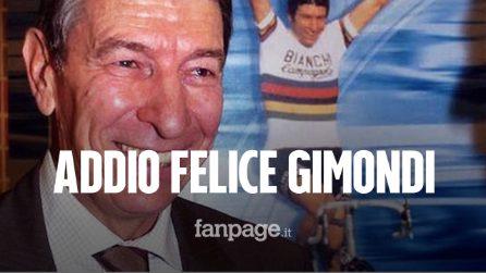Morto Felice Gimondi: addio al campione italiano di ciclismo dopo un malore in mare