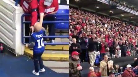 A soli 4 anni combatte contro un tumore al cervello: la standing ovation per il piccolo Bobby
