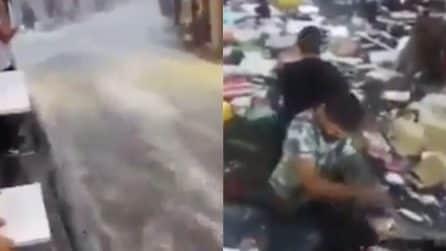 Maltempo, l'alluvione spaventosa devasta la città