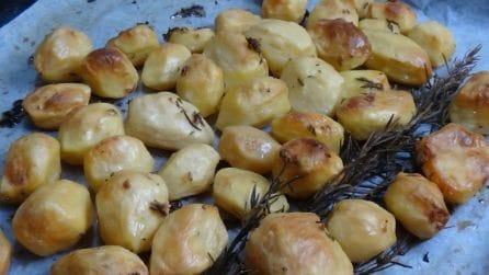 Patate al forno, come averle croccanti e saporite
