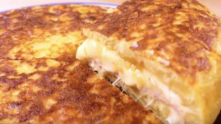 Omelette farcita: la ricetta spagnola buonissima e facile da preparare