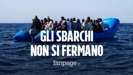 Lampedusa, gli sbarchi non si fermano: arrivati nella notte altri 16 migranti