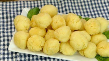 Palline veloci di patate: pronte con soli 5 ingredienti!