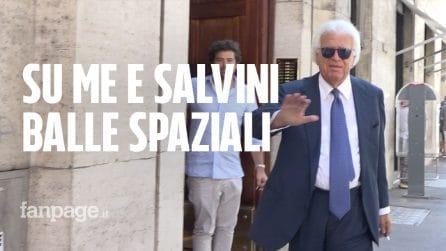 """Parla Denis Verdini: """"Io consigliere del mio 'genero' Salvini? Tutte balle, non so niente"""""""