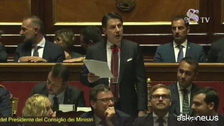 """Presidente del Consiglio Conte a Salvini: """"Matteo non hai cultura delle regole"""""""