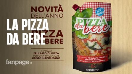 La foto della pizza da bere spopola sul web: bufala o esiste davvero?