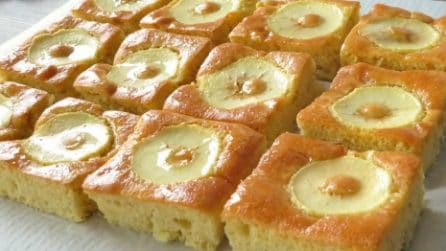 Quadrotti alle mele: super soffici e pieni di gusto