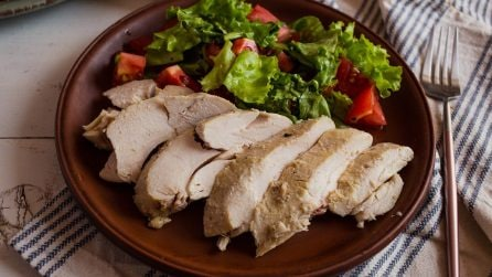 Pollo al limone: la versione light per ottenere un pollo saporito e tenero!