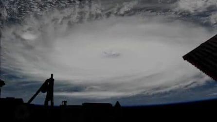 L'uragano Dorian dallo spazio mette paura: un gigantesco vortice che distrugge ciò che incontra