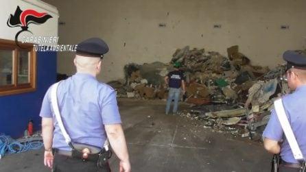 Scoperta discarica abusiva a Lissone: sotto sequestro una montagna di rifiuti speciali