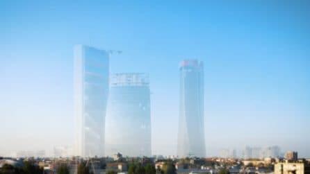 Milano i dieci anni di CityLife in un timelapse: dal 2009 a oggi