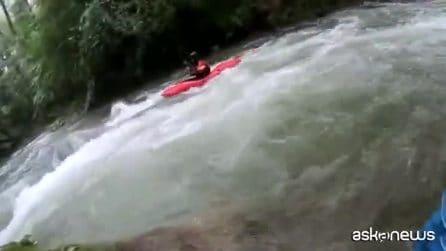 Cascata delle Marmore, salvato un cucciolo di capriolo in fiume