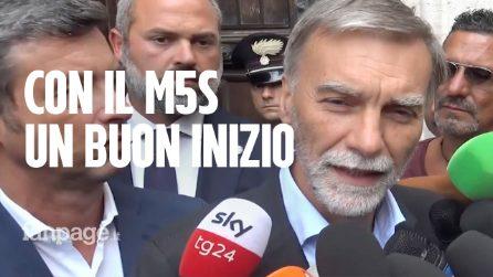 """Trattative Pd-M5S. I dem: """"Buon inizio, ma Di Maio chiuda il forno Lega"""""""