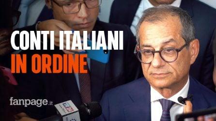 """Ministro Giovanni Tria: """"L'economia italiana sta mostrando forte resistenza"""""""