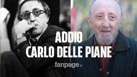 Morto Carlo Delle Piane: aveva 83 anni. Lavorò con i più grandi registi e attori italiani