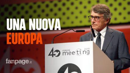 """David Sassoli (Pd): """"I sovranisti volevano dividere l'Europa, invece si sono divisi i loro fronti"""""""