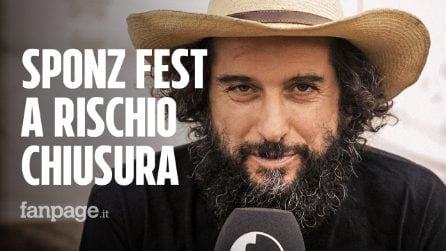 """Sponz Fest 2019, Vinicio Capossela: """"A rischio la prossima edizione"""""""