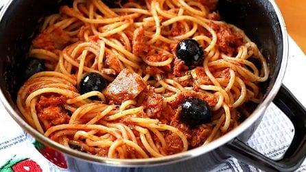Spaghetti con tonno e pomodoro: una ricetta semplice ma deliziosa