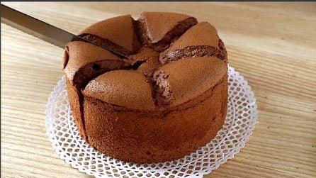 Torta al cioccolato alta e morbida: la ricetta facile da fare