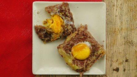 Toast di carne alle uova: un'idea semplice e sfiziosa per una cena originale!