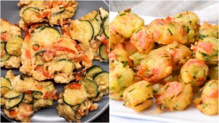 Frittelle di verdure: tanti modi per prepararle per un successo assicurato!