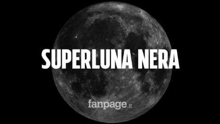 Superluna Nera, tutto pronto per lo straordinario fenomeno celeste: ecco quando si vedrà