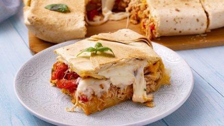 Torta di piadine: una ricetta semplice e sfiziosa per un party in casa!