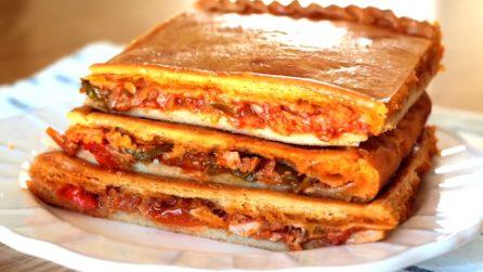 Pizza ripiena: una pasta morbida con un ripieno irresistibile