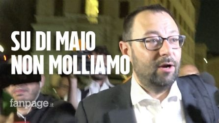 """Crisi di governo, Patuanelli (M5S): """"Di Maio vicepremier? E' il nostro capo, deve avere un ruolo"""""""